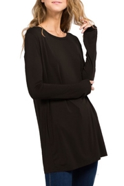 Tree People Bamboo-Spandex Knitted Tunic - Product Mini Image