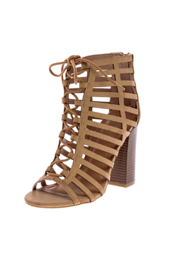 Shoptiques Product: Stone Lace Up Heel