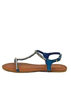 Bamboo Studded T-Strap Sandal - Product List Image