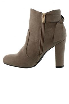 Bamboo Suede Bow Boots - Alternate List Image