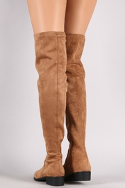 Bamboo Tan Over-The-Knee Boots - Side cropped