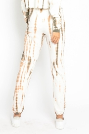 Olivaceous  Bamboo Tie Dye Joggers - Front full body