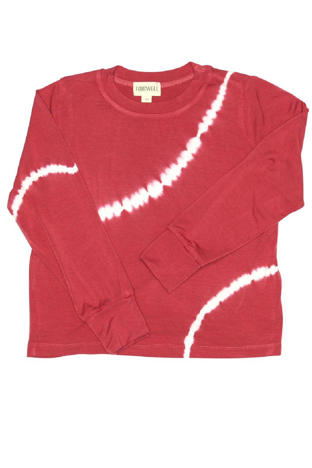 Fairwell Bamboo Top - Cranberry - Main Image