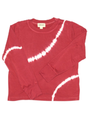 Fairwell Bamboo Top - Cranberry - Front cropped