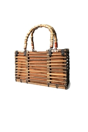 Runway & Rose Bamboo Top-Handle Bag - Product Mini Image