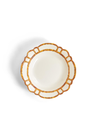 Two's Company Bamboo Touch Serving Bowl - Front cropped