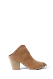 Bamboo Vance Slide On Booties - Side cropped