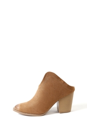 Bamboo Vance Slide On Booties - Front cropped