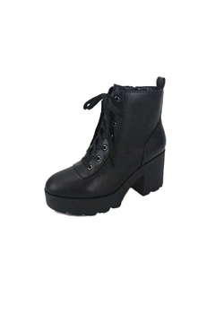 Bamboo Vista Lace-Up Combat Boot - Alternate List Image