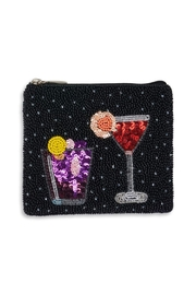 Bamboo Trading Company Cocktail Coin Purse - Product Mini Image