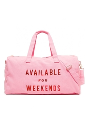 ban.do Weekender Duffel Bag - Front cropped