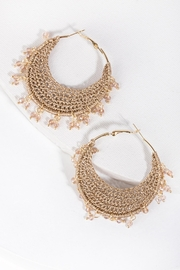 Saachi Bana Crochet Earring - Product Mini Image