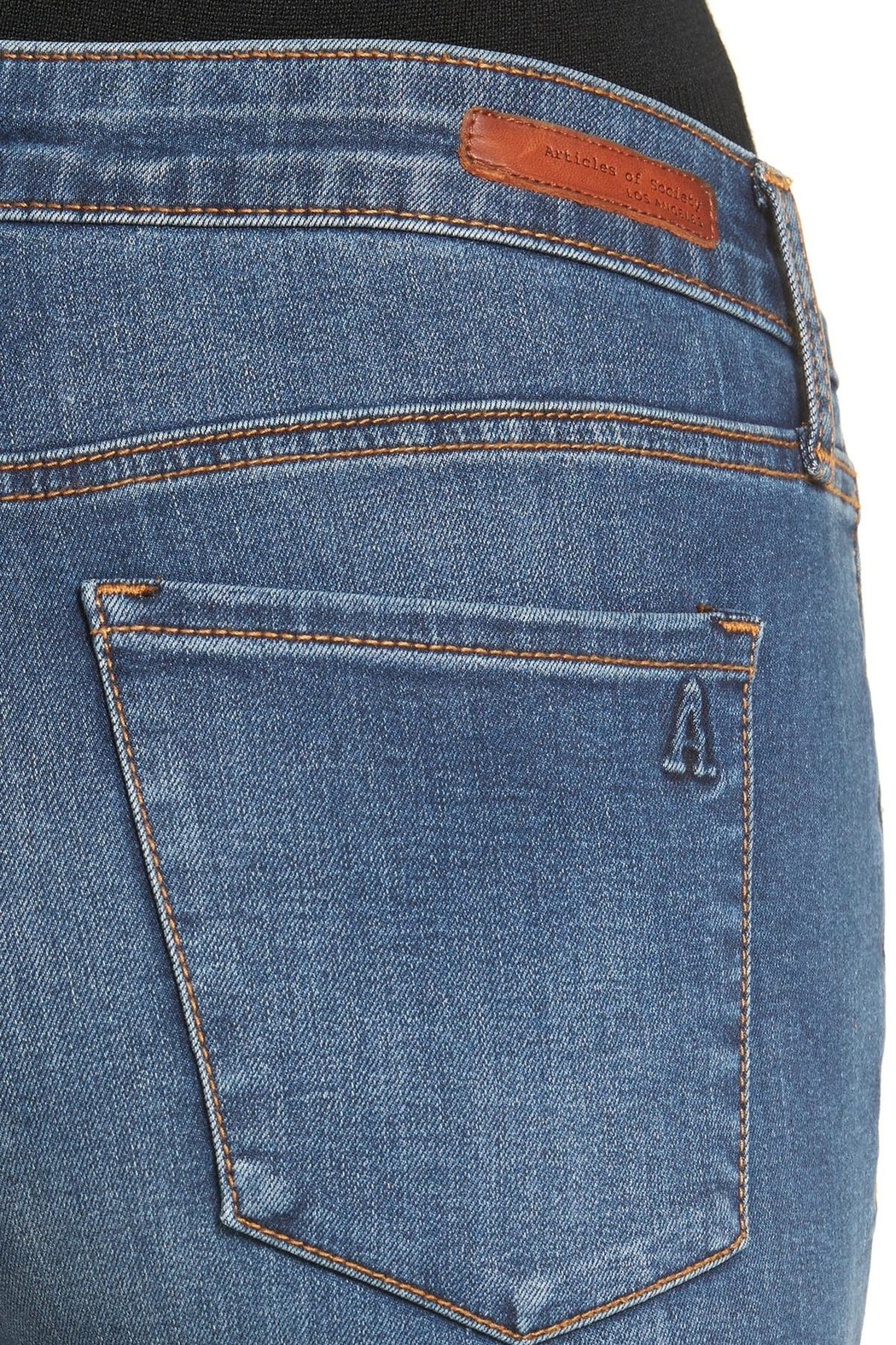 Articles of Society Bancroft Blue Jeans - Front Full Image