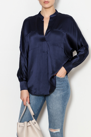 Vince Band Collar Blouse - Product Mini Image