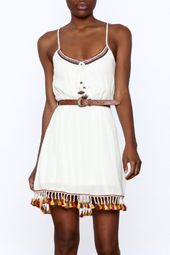 Band Of Gypsies Flirty Tassel Dress - Product List Image