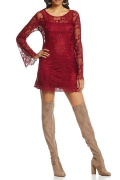 Shoptiques Product: Bell Sleeve Lace Dress