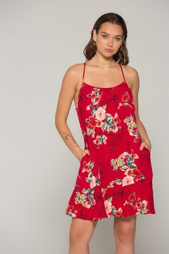 Band Of Gypsies Briar Floral Dress - Product List Image