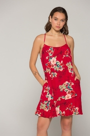 Band Of Gypsies Briar Floral Dress - Product Mini Image