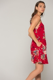 Band Of Gypsies Briar Floral Dress - Side cropped