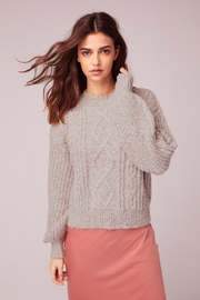 Band Of Gypsies Cable Knit Sweater - Front cropped