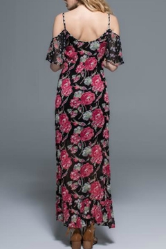 Band Of Gypsies Cold Shoulder Maxi - Alternate List Image