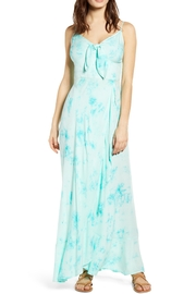 Band Of Gypsies Jade Tie-Dye Maxi - Front cropped