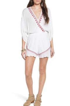 Shoptiques Product: Moroccan Embroidered Romper