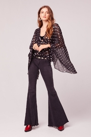 Band Of Gypsies Soiree Bell Sleeve Top - Product Mini Image
