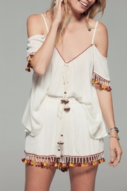 Band Of Gypsies Tassel Trim Shorts - Product Mini Image