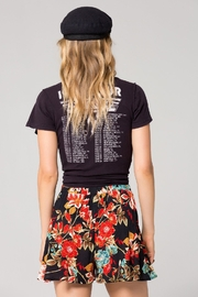 Band Of Gypsies Trinidad Floral-Print Short - Front full body