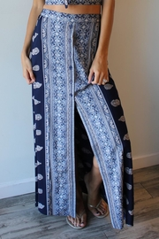 Band Of Gypsies Bandana Maxi Skirt - Product Mini Image