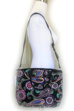 Vera Bradley Bandana Swirl Casual-Satchel - Alternate List Image