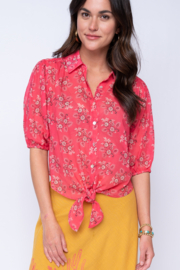 Ivy Jane  Bandana Tie Top - Side cropped