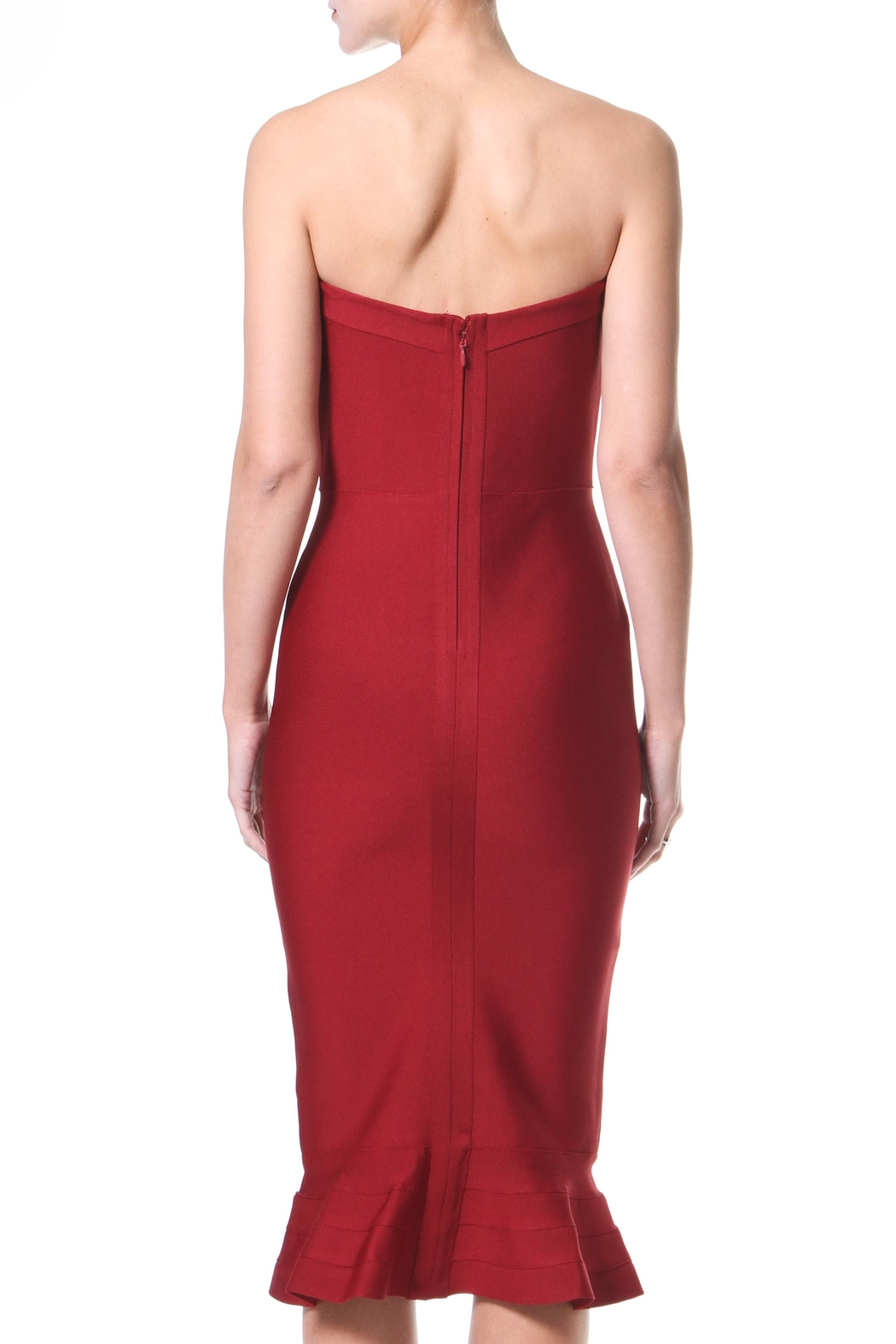Madonna & Co Bandeau Bodycon - Side Cropped Image