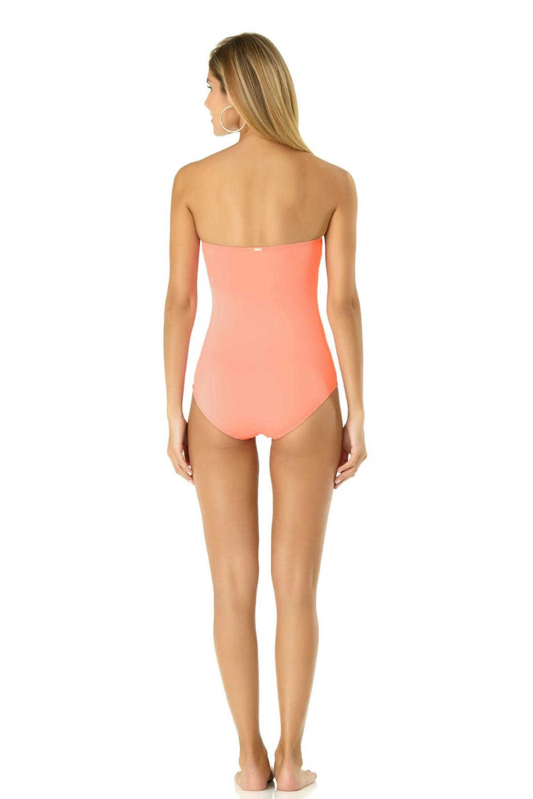 Anne Cole Bandeau One Piece - Side Cropped Image