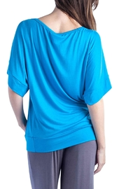 24/7 Comfort Apparel Banded Dolman Top - Side cropped