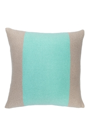 Wooden Ships banded pillow beige aqua - Product Mini Image