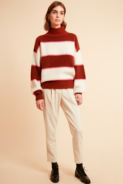 FRNCH Banded Pullover Sweater - Alternate List Image