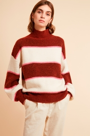 FRNCH Banded Pullover Sweater - Product Mini Image