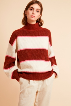FRNCH Banded Pullover Sweater - Product List Image