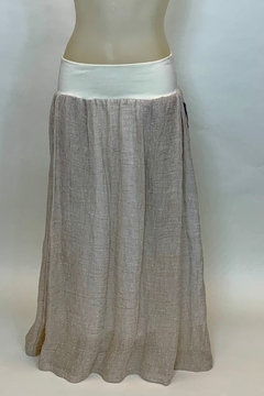 KIM BERNARDIN BANDED SKIRT - Alternate List Image