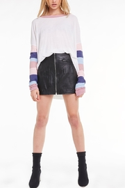 Wildfox Banded Sleeve Perry Thermal - Front cropped