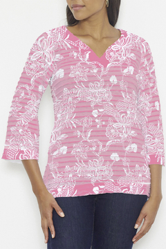 Whimsy Rose Banded Tunic - Product List Image