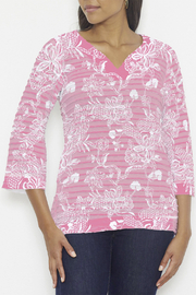 Whimsy Rose Banded Tunic - Front cropped