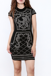 Banjul Black Studded Dress - Product Mini Image