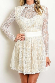 Banjul Lace Mini Dress - Product Mini Image