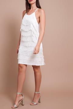 Banot by Loulou Liam White Fringe Dress - Product List Image