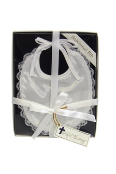 Shoptiques Product: Baptismal Bib W/cross