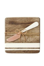 Mud Pie  Bar Board Set - Front cropped