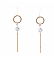 US Jewelry House Bar Drop Earrings - Product Mini Image